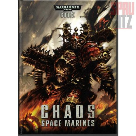 Chaos Space Marines Codex Rulebook 2012 Hardback